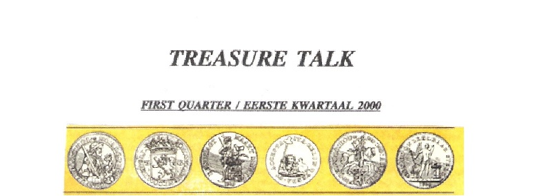 9 - Treasure Talk Jan - March 2000