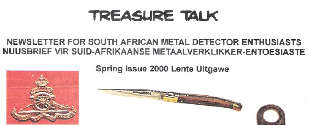 12 - Treasure Talk Jul - Sept 2000