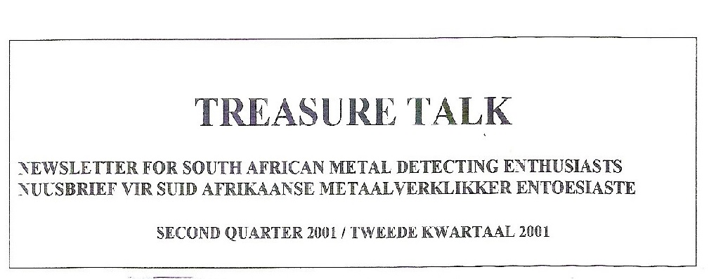 15 - Treasure Talk Apr - Jun  2001