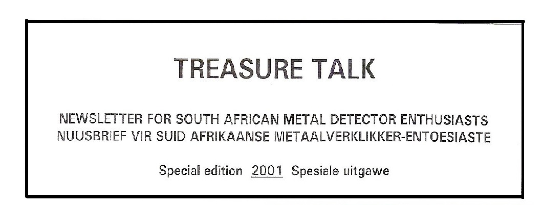 16 - Treasure Talk Jul  Spec  2001