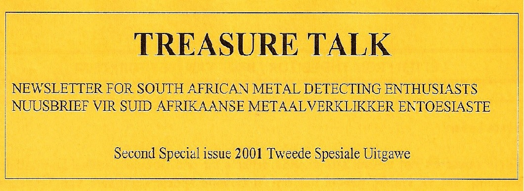 17 - Treasure Talk  Jun 2 nd Spec  2001
