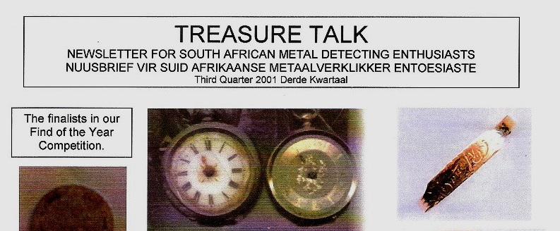 18 - Treasure Talk Jul - Sept  2001